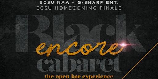 ECSU Homecoming 2019: Black Encore Cabaret