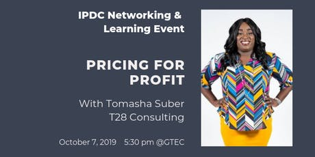 IPDC Networking & Learning Event: Pricing for Profit tickets