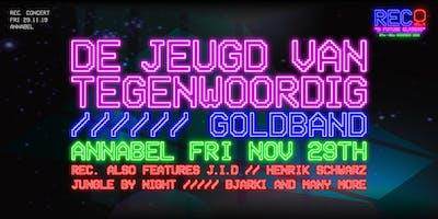 REC. // De Jeugd van Tegenwoordig & Goldband // Annabel