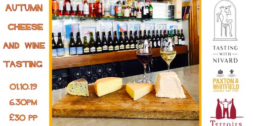 Autumn Cheese & Wine Tasting