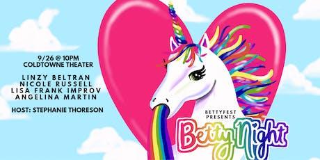 BettyNights tickets