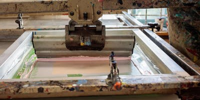 Course: Screen-printing, 22 July – 20 Aug, Wednesday, 10am – 1pm