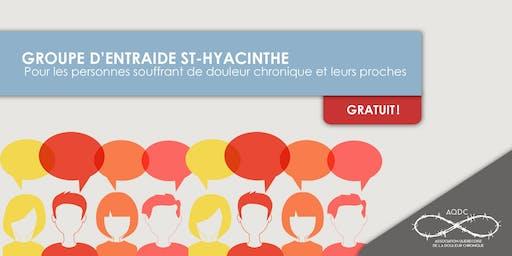 AQDC : Groupe d'entraide St-Hyacinthe - 10 octobre 2019