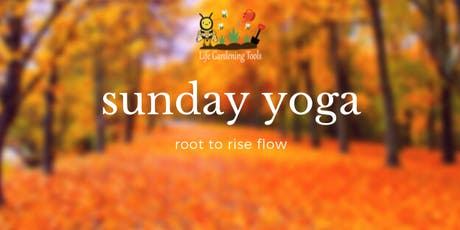 Sunday Yoga: Root to Rise Flow tickets