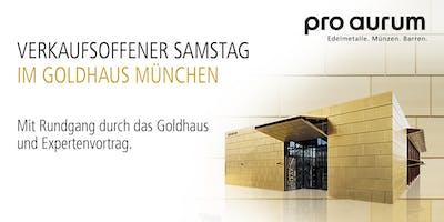 """08.02.2020 Goldhausführung & Vortrag: """"Vermögenssicherung mit GOLD und SILBER""""."""