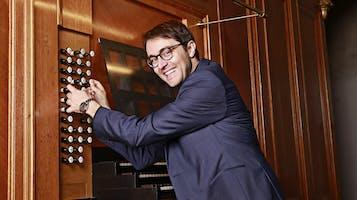 Organist Christian Schmitt