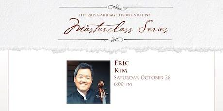 Eric Kim Cello Recital and Masterclass tickets