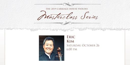 Eric Kim Cello Recital and Masterclass