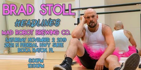 MRBC Comedy Night: BRAD STOLL ! tickets