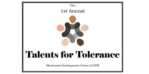 Talents for Tolerance