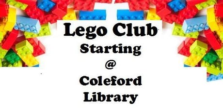 Coleford Library - Lego Club tickets