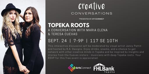 Creative Conversations: Maria Elena & Tess Cuevas