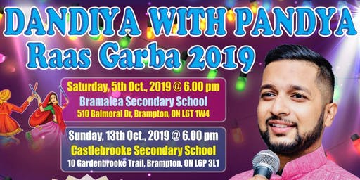 Dandiya with Pandya - Oct 13th, 2019