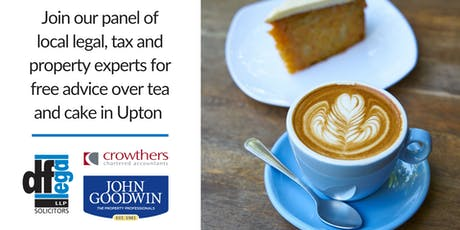 Upton Coffee Day   Free Legal, Property & Tax Advice tickets