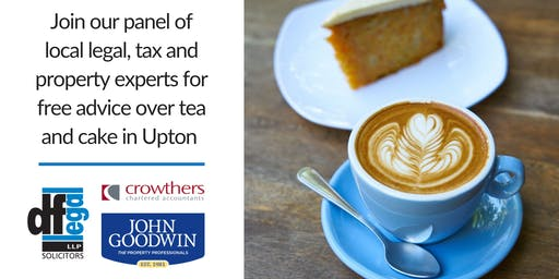 Upton Coffee Day | Free Legal, Property & Tax Advice