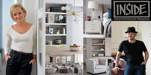 'Inside' interior design workshop with Gail Taylor & Charles Bateson
