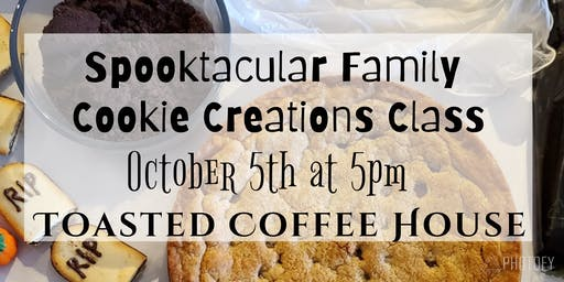 Spooktacular Cookie Cake Creations Class