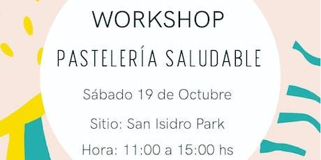 Workshop de pastelería saludable entradas