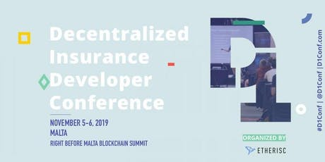D1Conf, Decentralized Insurance Conference tickets