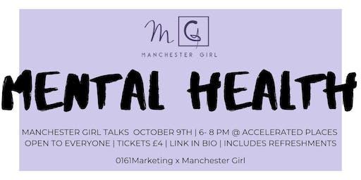 Manchester Girl Talks: Mental Health