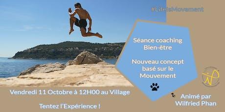 """Séance Coaching Bien-être """"LifeIsMovement"""" billets"""