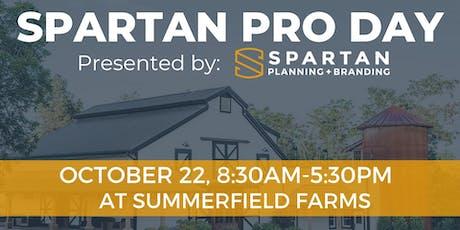 Spartan Pro Day tickets