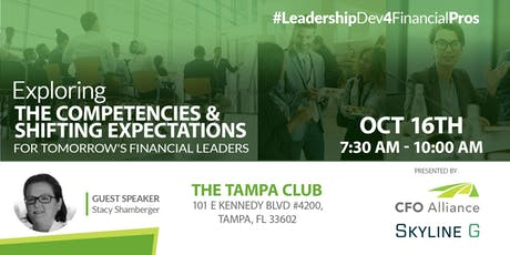 Exploring The Competencies & Expectations for Tomorrow's Financial Leaders tickets