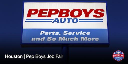 Houston Pep Boys Job Fair | 10/02/19