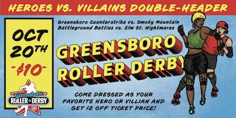 Heroes vs Villains Double Header tickets