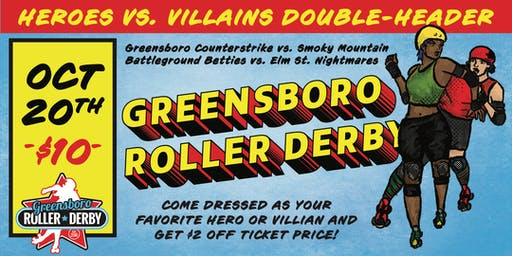 Heroes vs Villains Double Header
