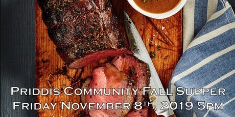 Priddis Community Fall Supper tickets
