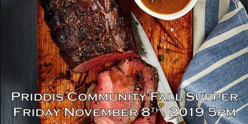 Priddis Community Fall Supper