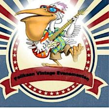 The Jive Aces and Pelikaan Vintage Evenementen logo