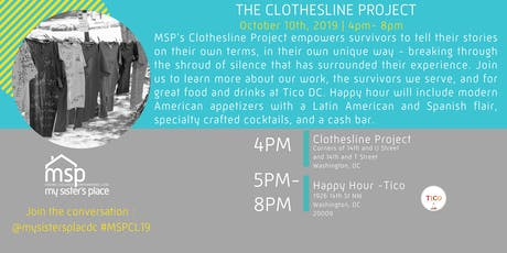 Volunteer for the 2019 Clothesline Project tickets