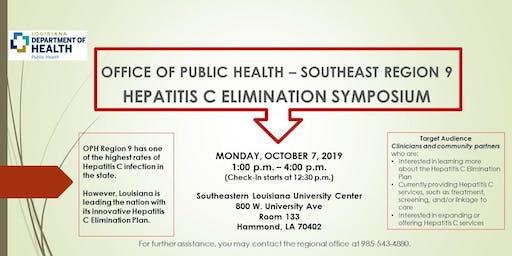 OPH Region IX Hepatitis C Elimination Symposium