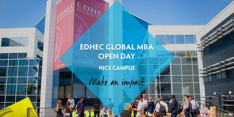 EDHEC Global MBA - Open Day billets
