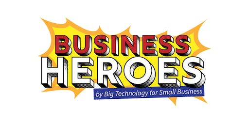 Business Heroes Live: Where every small business owner is a hero - October 16, 2019