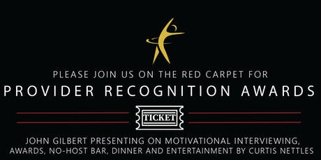 GCACH Provider Recognition Awards tickets