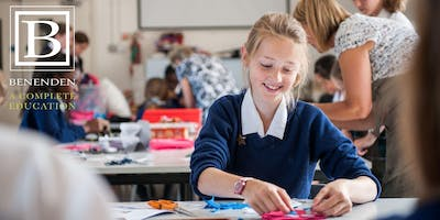 Benenden 13+ Open Morning - Thursday 16 June 2020
