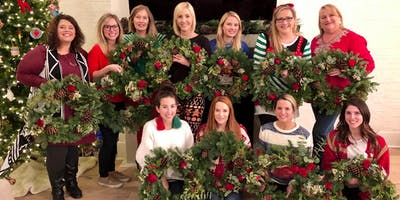 Holiday Wreath Making with Sweet Baton Rouge