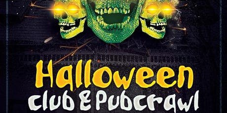 Halloween Pub & Club Crawl : Celebrate Halloween in multiple venues! tickets