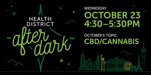 Health District After Dark Lecture Series: CBD/Cannabis