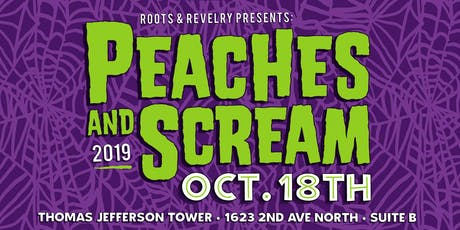 Peaches and Scream Halloween Party tickets