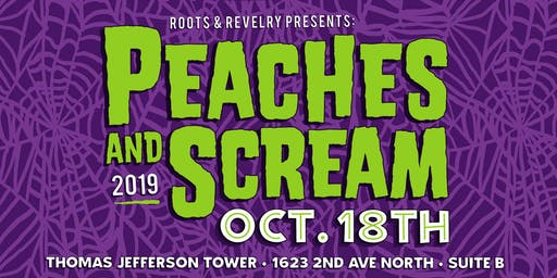 Peaches and Scream Halloween Party