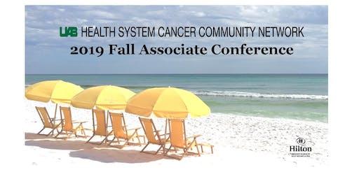 2019 UABHS Cancer Community Network Fall Associate Conference - VENDOR REGISTRATION