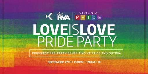 Love is Love PRIDE Party at Kabana Rooftop