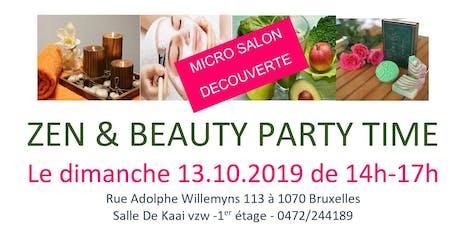 Micro Salon Zen & Beauty Party Time  billets