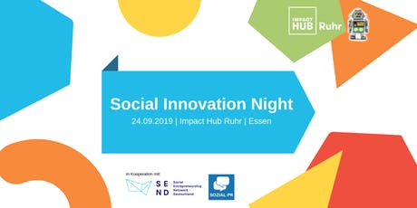 Social Innovation Night Ruhr #2 - Tech4Good Tickets