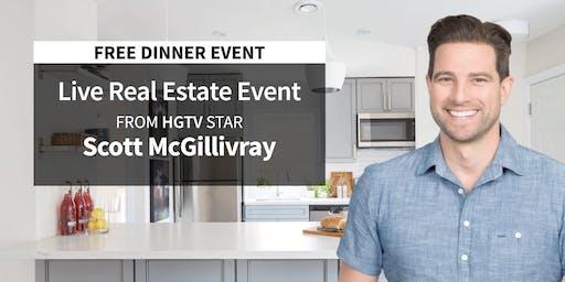 [FREE] LIVE Real Estate Event in Hammond from HGTV Star Scott McGillivray!