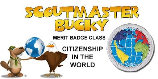 Citizenship in the World Merit Badge - 2019-12-21 - Saturday PM - Scouts BSA